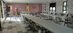 Salle pluri scolaire intérieur